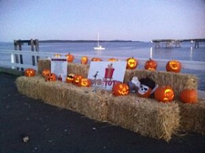 Pumpkins on Beacon Pier